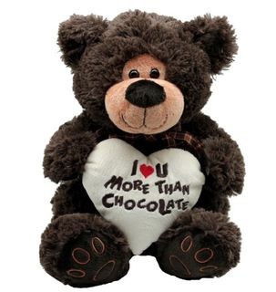 I Love You More Than Chocolate Bear