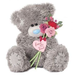 Tatty Teddy with Roses