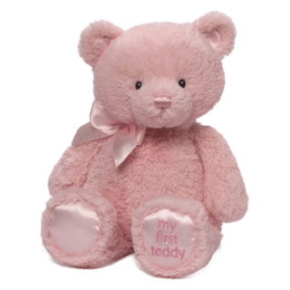 My First Teddy Pink Small