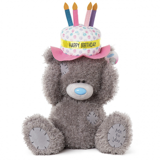 Tatty Teddy with Birthday Hat