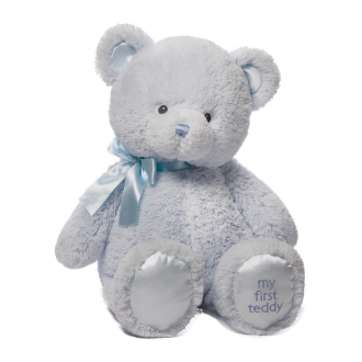 Baby First Teddy Blue Medium