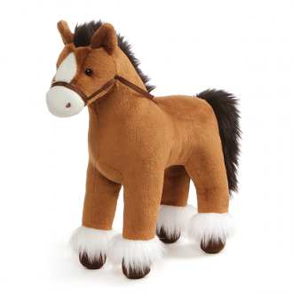 Clydesdale Horse Brown