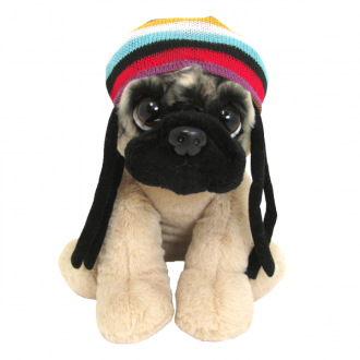 Doug the Pug Rasta Hat