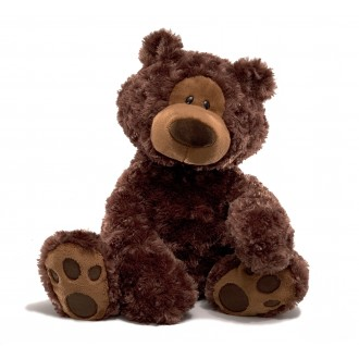 Philbin Bear Dark Brown Medium
