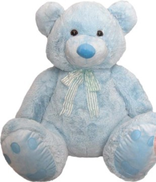 Jumbo Roly Bear Blue