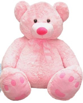 Roly Bear Pink Medium