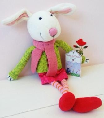 Ruby Red Shoes Soft Toy
