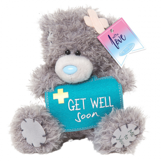 Tatty Teddy Get Well Bear