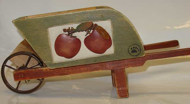 Newton's Apple Wheelbarrow