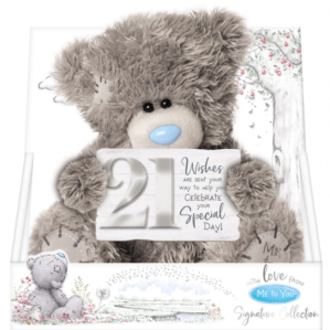 Tatty Teddy 21st Bear