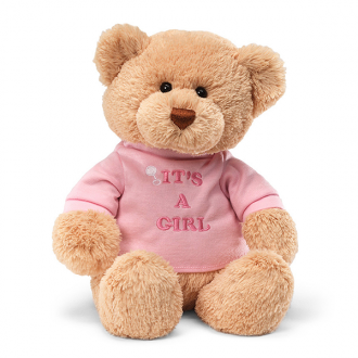 It's a Girl Gund Teddy Bear